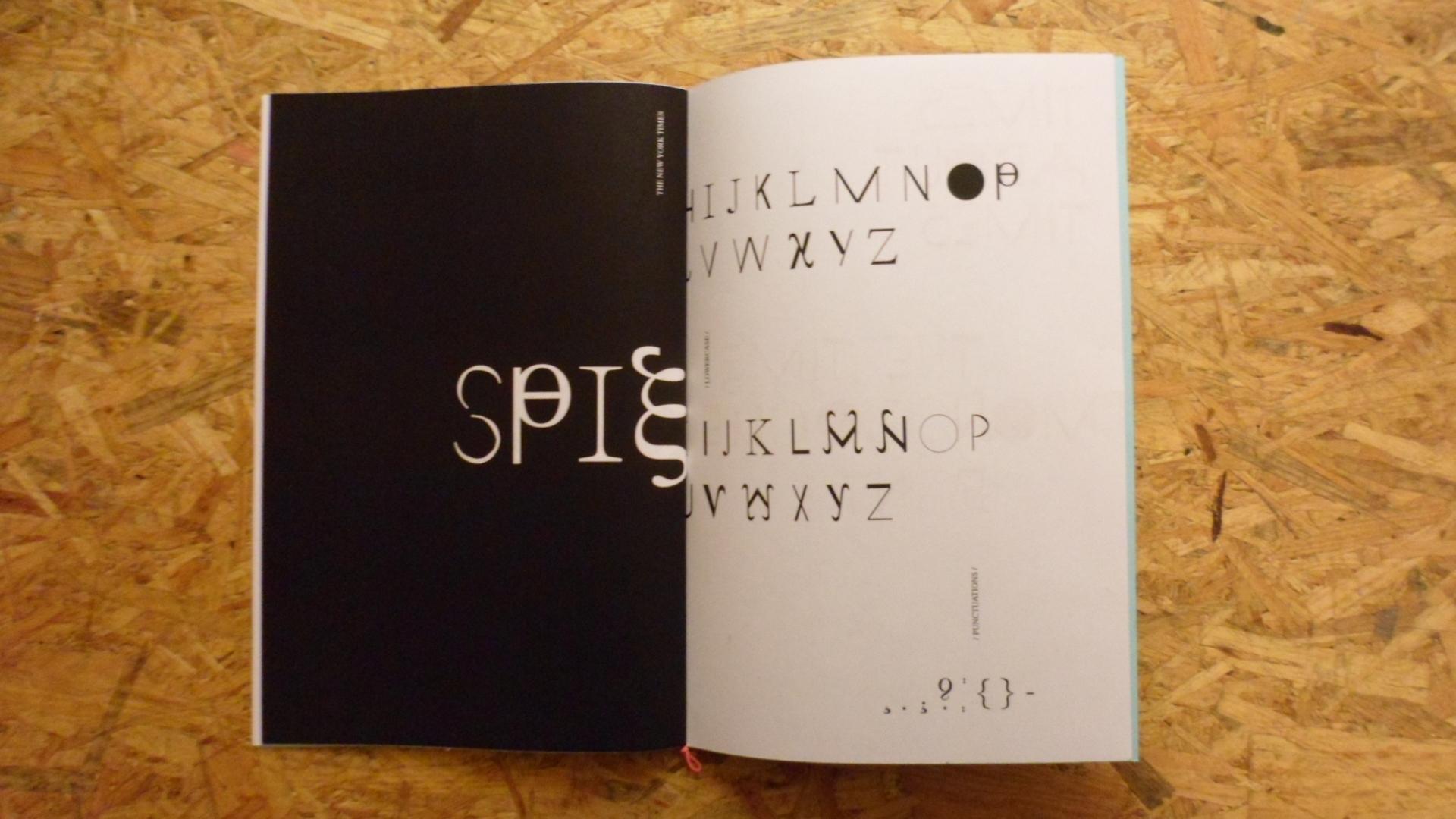 clara huber – visual communication ● The Times Monologue Font