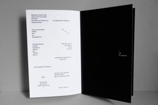 clara huber – visual communication Typetalk – Exhibition