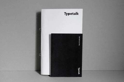 CLARA HUBER STUDIO Typetalk