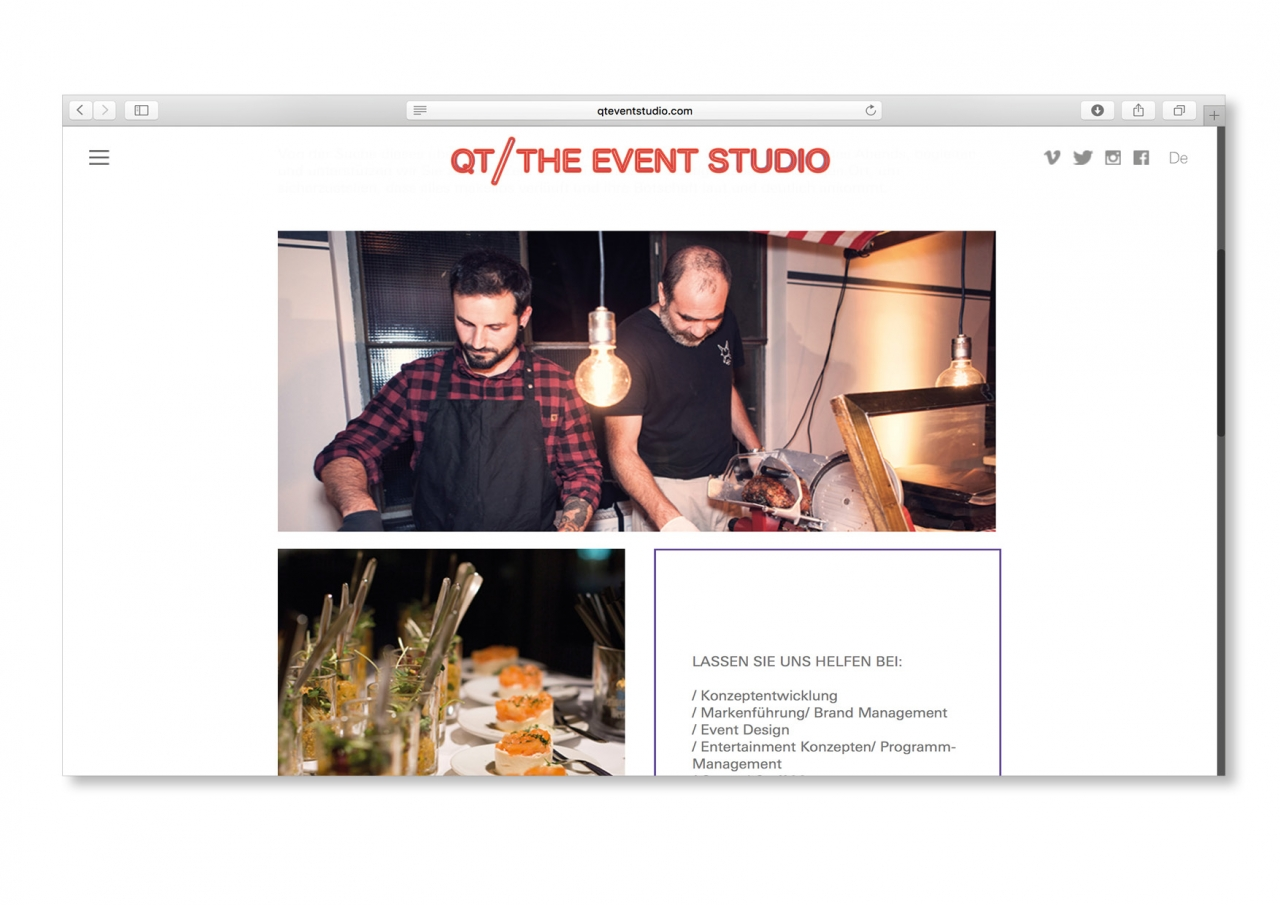 clara huber – visual communication The Event Studio
